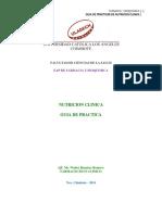 Guia de Practicas de Nutrición Clinica 2014