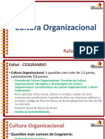 Slides Aula1 Bb 2015 Culturaorganizacional Rafaelravazolo
