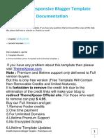 Simplify Documentation