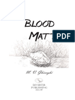 Blood Matter, first 9 chapters including Prologue