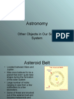 Asteroids, Comets and Meteors Powerpoint