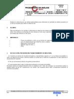 Determinacion de Solidos Sedimentable