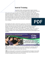 6 Months Industrial Training in Khanna