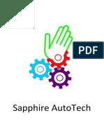 Company Profile Sapphire Auto Tech