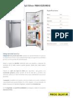 Catalogo Refrigeradores