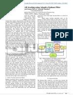 Efficient RADAR Tracking Using Adaptive Kalman Filter