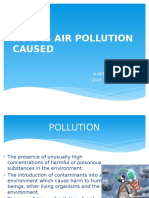 How is Air Pollution Caused