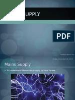 Mains Supply