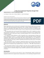 Gas Condensate Properties