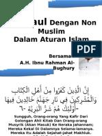 Bergaul Dengan Non Muslim