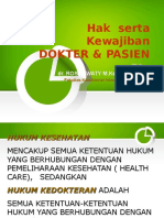 Hak  serta Kewajiban dokter