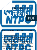 ntpc corporate social responsibility