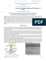 Investigation on Effect of Tool Size & Welding Parameters on FSW Butt Joint – a Review-25078