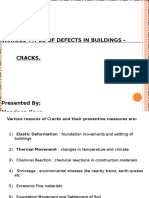 Cracks - Types of Defects in Buildings