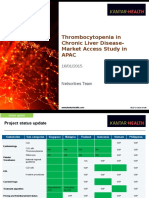 Thrombocytopenia in CLD_Market Access Landscape_Interim_16012015.pptx