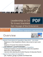 Leadership in CrisisSir Ernest Shackleton and the Epic Voyage of the Endurance _By Venkataraman K