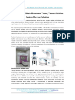 HUKINGS Solid State Microwave Tissue & Tumor Ablation System Therapy Solution