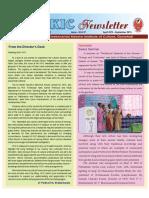 VKIC Newsletter_April 15 - September-15