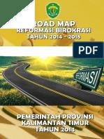 Road Map Rb Kaltim Tahun 2014 - 2018