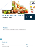 Tracxn Research Grocery Tech Landscape