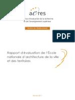Aeres-s1-Ensavt Marne La Vallée 2011