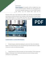 Cara Reset BIOS Motherboard Komputer