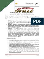Volonterski Kodeks 2015 Obrazac Za Volontere