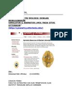 Tugas Difraksi Kristal (Simetri Molekul)_Muhammad Rizki Alfirdaus (1112100081)