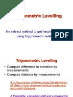 Trig Levelling