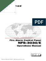 Notifier NFS 3030 E Operations Manual