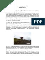 Ovnis en Machu Picchu