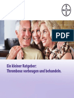 Patientenratgeber Thrombose Deutsch