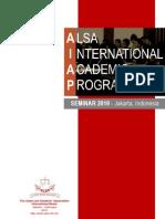 AIAP Proposal