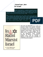Jack Bernstein-Life of an American Jew in Racist Marxist Israel