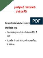 Financements PEV