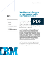 (1) Meet the analysis needs of business users with business intelligence.PDF