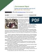 Pa Environment Digest Dec. 28, 2015