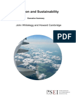 Aviation and sustainability
