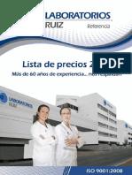 Laboratorios Clinicos de Puebla 2012