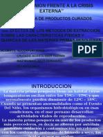 Efectos de Los Metodos de Extraccion Sobre Caracteristicas Fisicas y Ki9micas de Materias Prima