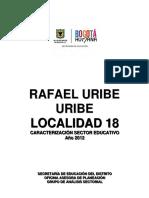 18. Rafael Uribe Uribe 2012