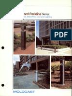 Moldcast Bollard Pericline Brochure 1983