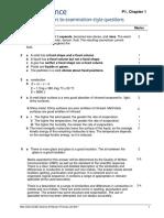 Core Physics Mark Scheme AQA textbook
