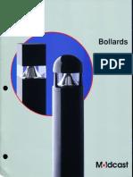 Moldcast Bollards Brochure 1998