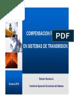 _compensacion Reactiva en Sistemas de Transmision(Coes)