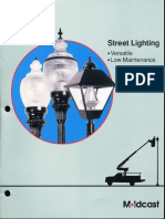 Moldcast Street Lighting Products Brochure 1998