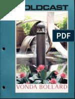 Moldcast Vonda Bollard Brochure 1992