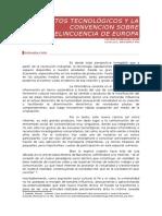 DDII y El Convenio Sobre La Ciberdelincuencia de Europa