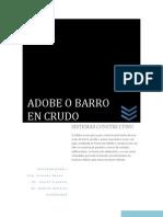Adobe o Barro en Crudo