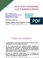 Minicurso R SBPO 2010